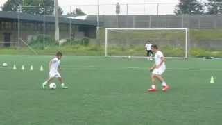 getlinkyoutube.com-Pietro 9 ans petit prodige du football