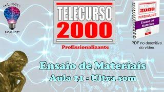 getlinkyoutube.com-Telecurso 2000   Ensaios de Materiais   21 Ultra som