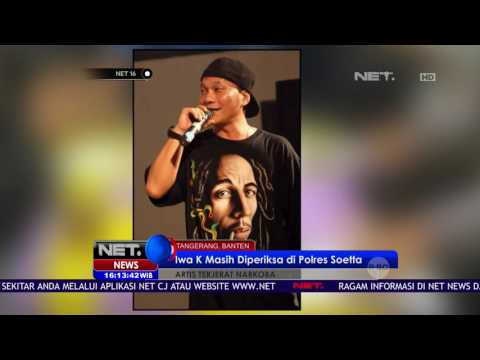 Rapper Iwa K, Diamankan Petugas Bandara Soetta Setelah Diketahui Bawa Ganja - NET16