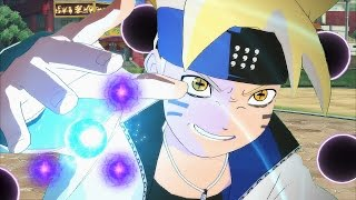 Boruto Unleashes Six Paths Power vs Naruto - Naruto Shippuden Ultimate Ninja Storm 4 Road to Boruto
