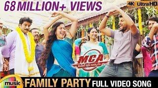 Family Party Full Video Song 4K | MCA Video Songs | Nani | Sai Pallavi | DSP | Dil Raju |Mango Music width=