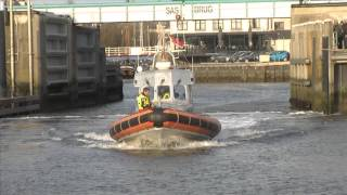 getlinkyoutube.com-GPTV: Reddingsboot Brandaris terug op Terschelling