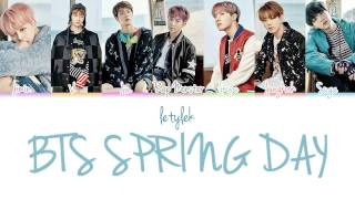 getlinkyoutube.com-BTS Spring Day (봄날) Lyrics [Colour Coded|HAN/ROM/ENG]