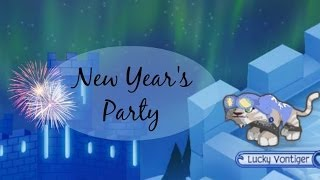 getlinkyoutube.com-Animal Jam: New Year's Party 2014