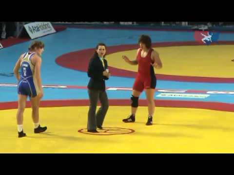 2011 Worlds Women 72kg Final - Stanka Zlateva (BUL) vs. Ekaterina Bukina (RUS)