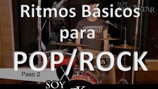 Cómo tocar Ritmos básicos para POP/ROCK