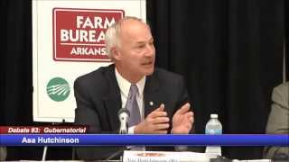 AR Governor Debate: Private Option Medicaid Expansion (8:38)