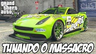 getlinkyoutube.com-GTA V - Tunando o Dewbauchee Massacro STOCK CARRO NOVO DLC NATAL