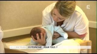 Ostéopathie contre le torticolis bebe width=