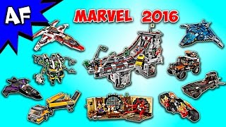 Every Lego MARVEL Super Heroes 2016 Sets - Complete Collection!