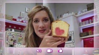 getlinkyoutube.com-Violetta : Les Recettes d'Angie - Cake Romantique