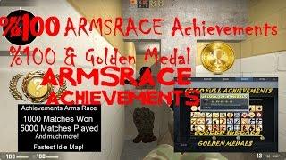 getlinkyoutube.com-CSGO ArmsRace Achievement %100 Full-Golden Medal-Silah Yarışı Başarımları