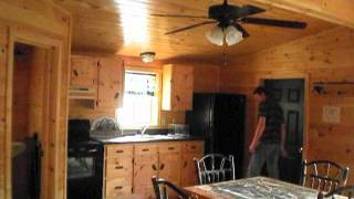 getlinkyoutube.com-22x36 Settler Cabin Tour