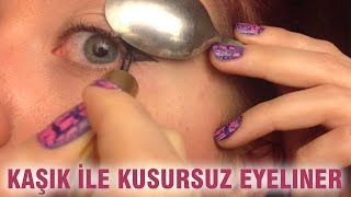 getlinkyoutube.com-Kaşık İle Kusursuz Eyeliner