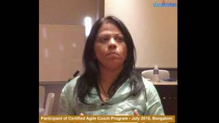 Participant - Neetha : Certified Agile Coach Program - ICP-ACC