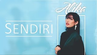 SENDIRI - ALIKA karaoke download ( tanpa vokal ) cover
