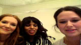 "getlinkyoutube.com-Kerry Washington, Katie Lowes & Darby Stanchfield Talk ""Scandal"" - Part 1"