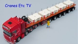 getlinkyoutube.com-WSI Nooteboom Ballast Trailer by Cranes Etc TV