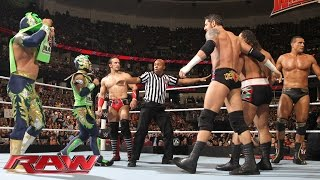 getlinkyoutube.com-The Lucha Dragons & Neville vs. The League of Nations: Raw, February 15, 2016