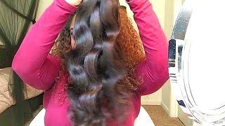 getlinkyoutube.com-Part 1 Diamond Dynasty virgin Hair BRAZILIAN BODY WAVE initial unboxing