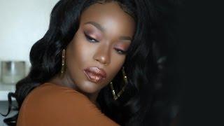 getlinkyoutube.com-Black girl BUNDLESSSS | WOWAfrican Italian Yaki Lace Wig!