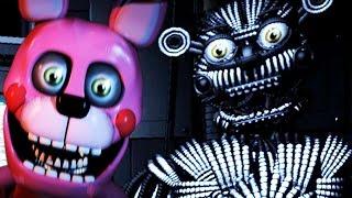 getlinkyoutube.com-BONNET AND YENNDO NEW ANIMATRONICS ATTACK!   Five Nights at Freddys Sister Location CUSTOM NIGHT!