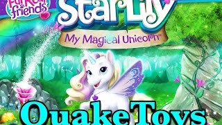 *NEW* StarLily My Magical Unicorn Pet App FurReal Friends Interactive Toy Game Playing QuakeToys