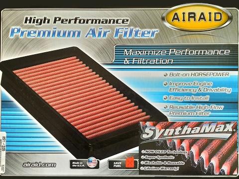 Airaid 851-205 non-oiled air filter for Toyota 3RZ-FE
