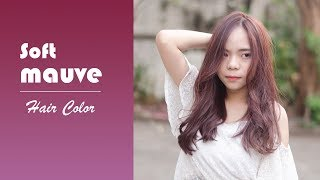 Soft mauve - Hair Color(Hoyu Professional)