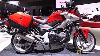 getlinkyoutube.com-2016 Honda NC750X - Walkaround - 2015 Tokyo Motor Show