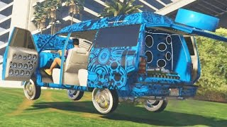 getlinkyoutube.com-TUNEANDO DECLASSE MOONBEAM - DLC GTA V ONLINE LOWRIDERS