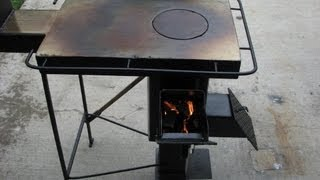 getlinkyoutube.com-A Rugged Multi-Fuel, Multi-Use Rocket stove