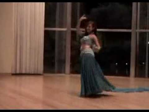 Alia belly dancing at wedding