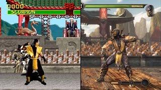 The Evolution of Mortal Kombat (1992-2015)