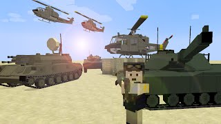 getlinkyoutube.com-Minecraft Flans mod Ez8's Cold War Vehicle Pack 1.7.10