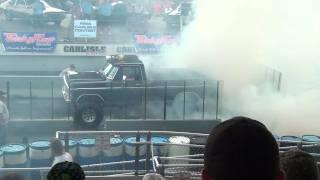 getlinkyoutube.com-Carlisle Ford Nationals 2011 Burnout Contest - Winner - F250.