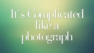 getlinkyoutube.com-Complicated ft. Elizabeth Gillies Lyrics