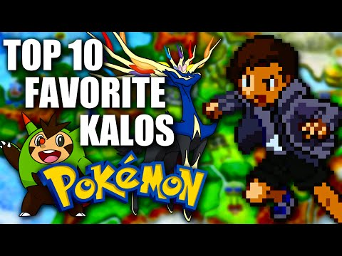 My Top 10 Favorite Kalos Pokémon - NintendoFanFTW