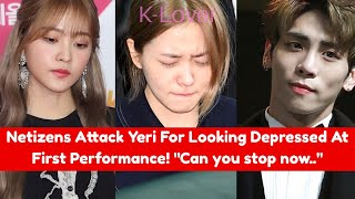 Netizens Attack Red Velvet's Yeri For Looking Depressed At The 2017 SBS Gayo Daejun