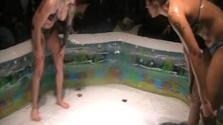 getlinkyoutube.com-Baby Oil Bikini Action Crazy