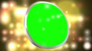 getlinkyoutube.com-Video Circle Shine Green Screen Free Animation Effect Stock AA VFX