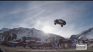 World Record Car Jump Attempt Goes Wrong | World of Adventure