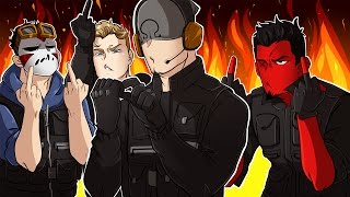 getlinkyoutube.com-Rainbow Six: Siege | OHM-V-P! (w/ H2O Delirious, Bryce, & Ohmwrecker) R6 Velvet Shell