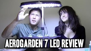 getlinkyoutube.com-Best Indoor Garden for Beginners: Aerogarden 7 LED Review