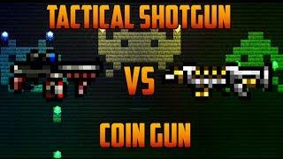 getlinkyoutube.com-Terraria - Coin Gun vs Tactical Shotgun; Twins [Super Terraria]