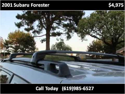 2001 Subaru Forester Used Cars San Diego CA