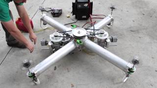 getlinkyoutube.com-IncredibleHLQ - Heavy Lift Quadcopter - EngineTest