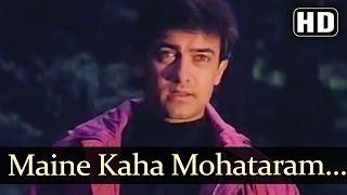 getlinkyoutube.com-Maine Kaha Mohataram - Baazi (1995) Songs - Aamir Khan - Mamta Kulkarni