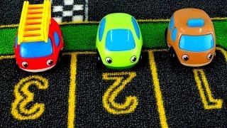 getlinkyoutube.com-Мультики про машинки: Команда Спасателей - Маленький НЕПОСЕДА! Машинки спасатели - Друг в беде!