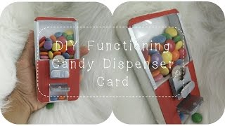 DIY Functioning Candy Dispenser Card TUTORIAL